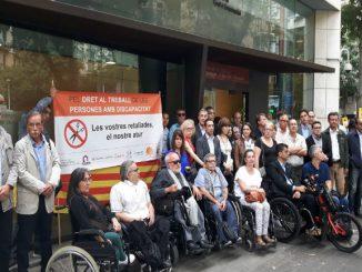 concentració sector discapacitat retallades cet