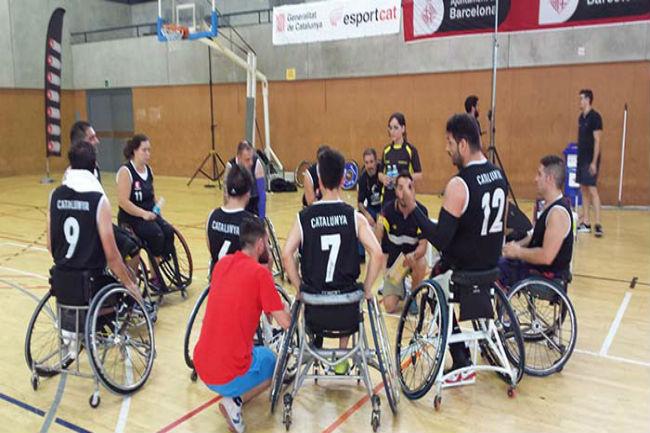 Equips francesos i suïssos al 24è Trofeu Ciutat de Barcelona de bàsquet en cadira de rodes