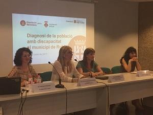La Fundació Pere Tarrés presenta una diagnosi de la població amb discapacitat al municipi de Rubí