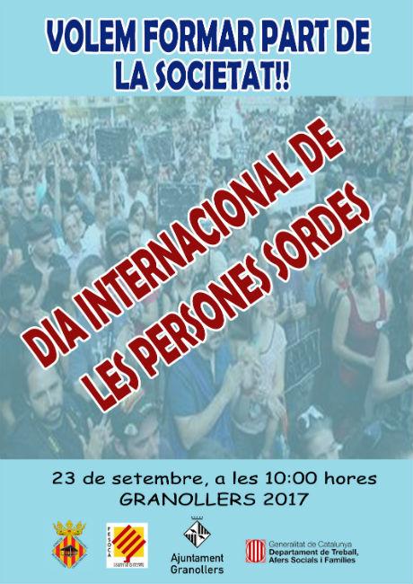 """Més de 500 persones sordes demanen a Granollers """"ser més visibles a la societat"""""""