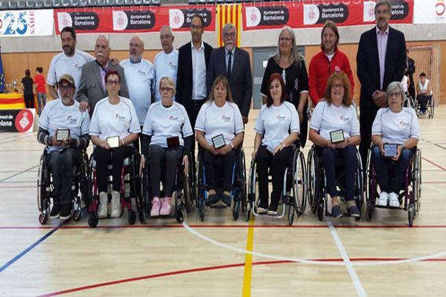 homenatge bàsquet cadira rodes barcelona'92