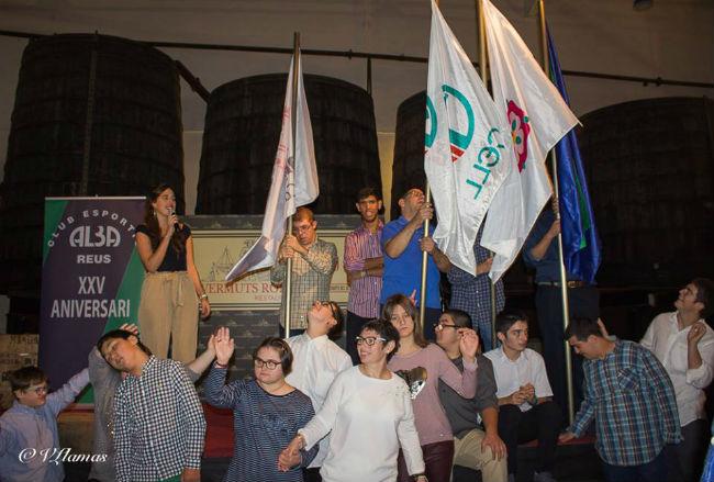 El Club Esportiu Alba commemora els 25 anys dedicat a la pràctica esportiva per a persones amb discapacitat intel·lectual