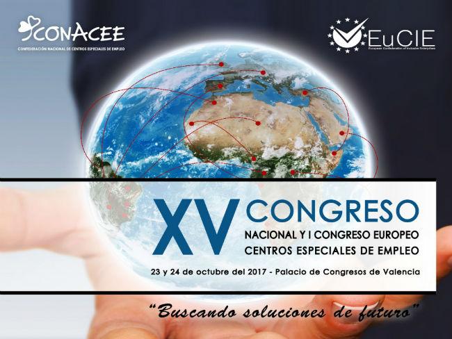 cartell congrés centres especials treball valència
