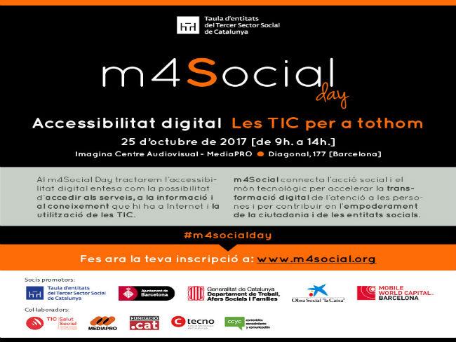 m4Social organitza una jornada sobre l'accessibilitat digital de les TIC