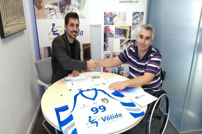 Vàlida sin barreras serà un any més patrocinador oficial de la secció esportiva de MIFAS