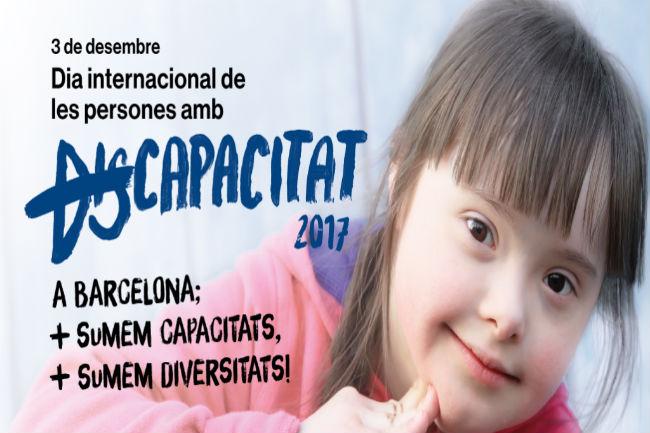 barcelona suma dia internacional de persones amb discapacitat activitats