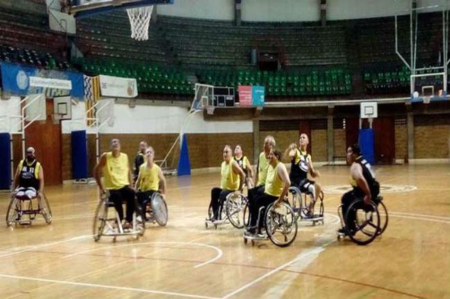 tercera jornada lliga catalana bàsquet cadira rodes nivell 2
