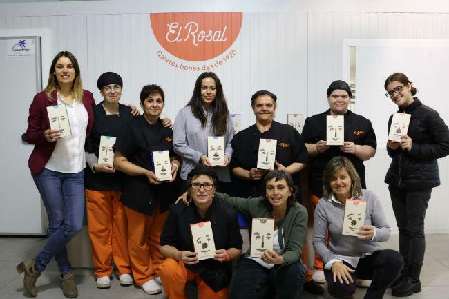 L'obrador de galetes El Rosal afronta la campanya de Nadal amb més capacitat de producció i una nova imatge