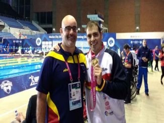 medalla or toni ponce mundial natació mèxic