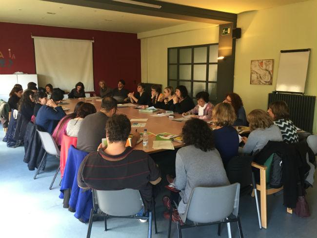 trobada projectes taula salut mental urgell seegarra