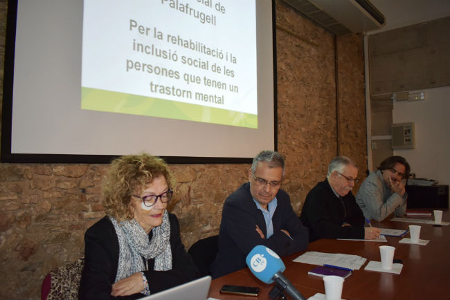 Es posa en marxa el primer Club Social per a persones amb malaltia mental al Baix Empordà