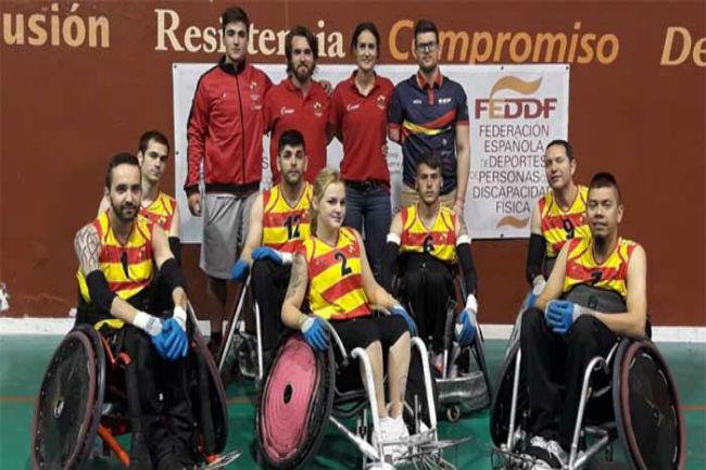 Convocatòria de la selecció catalana pel Campionat d'Espanya per CCAA de rugbi adaptat