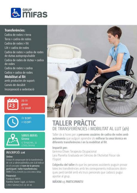 taller mifas transferències mobilitat llit