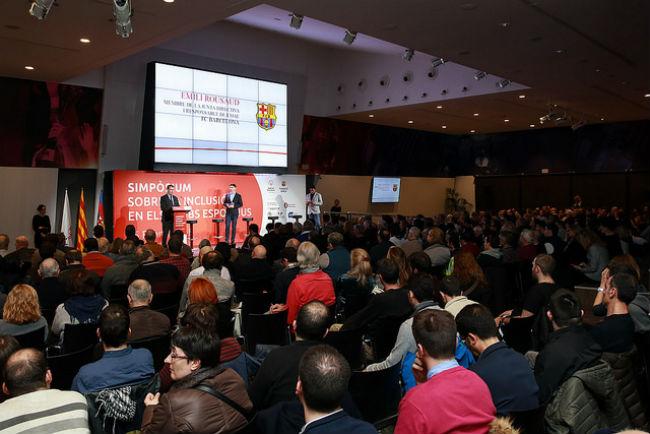 400 persones simpòsium inclusió discapacitat clubs esportius