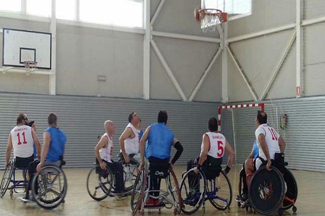 5a jornada lliga catalana bàsquet cadira rodes nivell 2