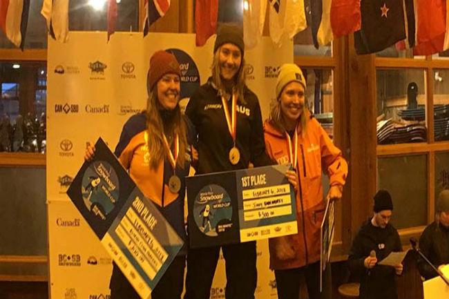 astrid fina medalla plata campionat món snowborder canadà