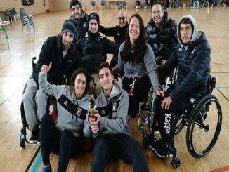 buc jugadors concentració selecció espanyola quad rugbi