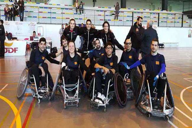 Catalunya revalida el títol de Campiona d'Espanya de rugbi adaptat per Comunitats Autònomes