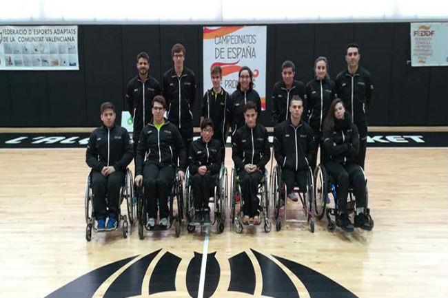 Catalunya, bronze al Campionat d'Espanya per promeses paralímpiques de bàsquet en cadira de rodes