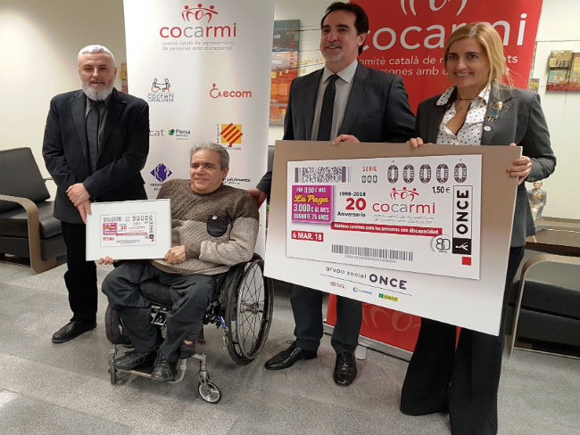 cupó once commemoració 20è aniversari cocarmi