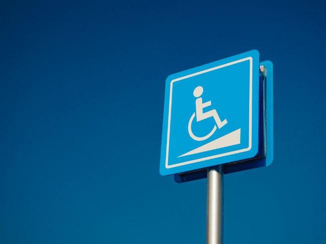 senyal discapacitat física