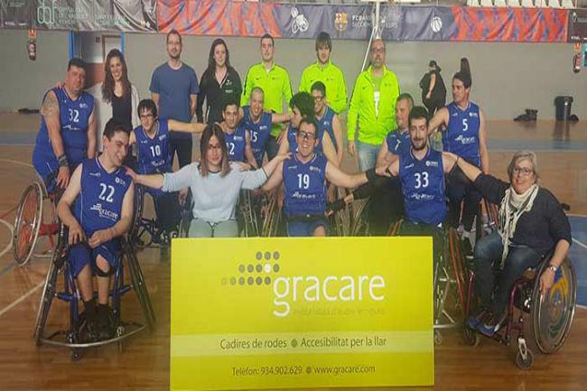 escola afa campió lliga catalana bàsquet cadira rodes nivell 2