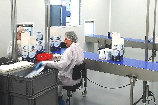 fupar sala neta processos productius indústria farmacèutica