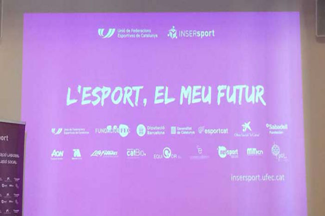 El programa INSERsport de la UFEC promou la inserció laboral de les persones amb discapacitat