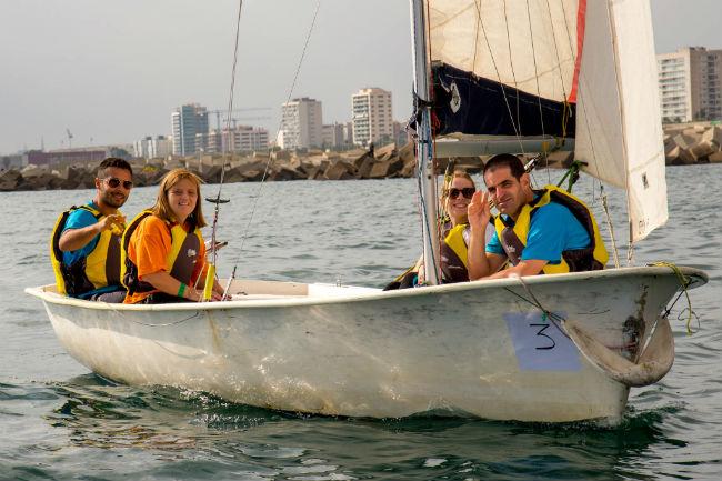 blanes campionat vela inclusiva discapacitat intel·lectual