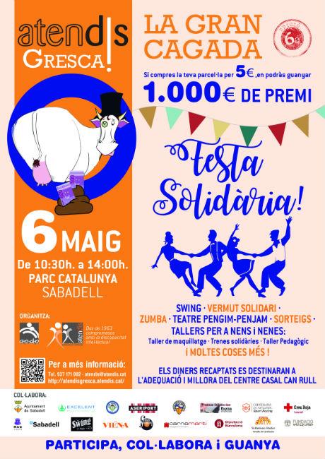 ATENDIS organitza a Sabadell la sisena edició de la Cursa Solidària i de la Gran Cagada
