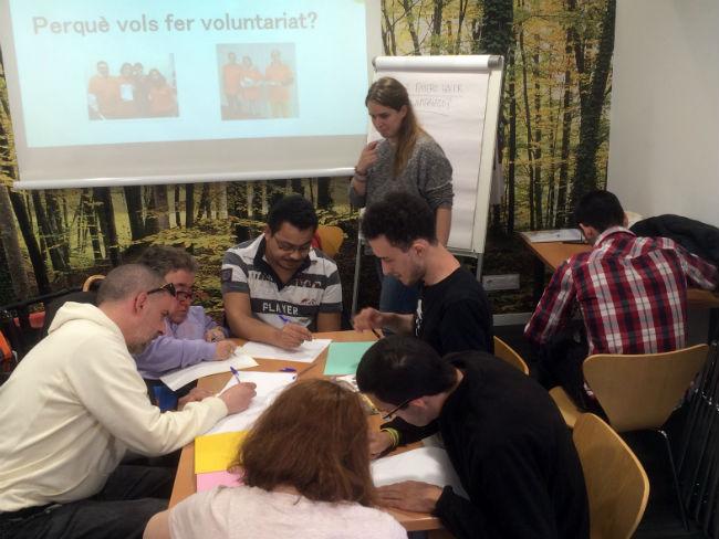 Som – Fundació realitza la primera formació de voluntariat inclusiu dins el projecte #JoTbPuc