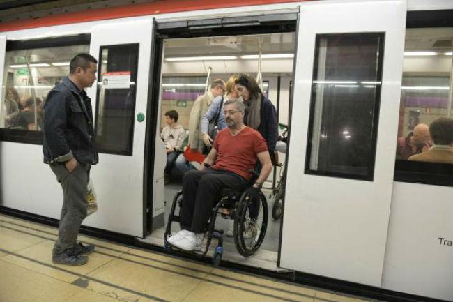 tmb institut guttmann 20 anys accessibilitat transport públic