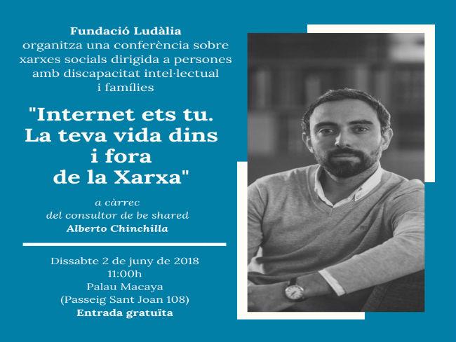 Conferència sobre la gestió de xarxes socials dirigida a persones amb discapacitat intel·lectual