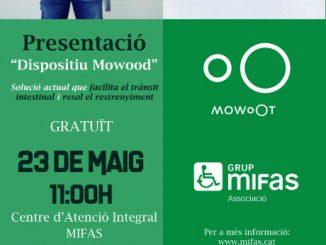 cartell presentació mowoot restrenyiment crònic
