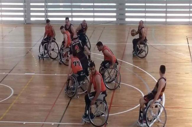 partits ajornats bàsquet lliga catalana cadira rodes nivell 1
