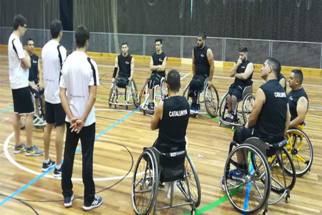 llista convocats selecció catalana basquet cadira rodes