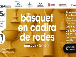 trofeu internacional barcelona bàsquet cadira rodes masculí memorial joan palau
