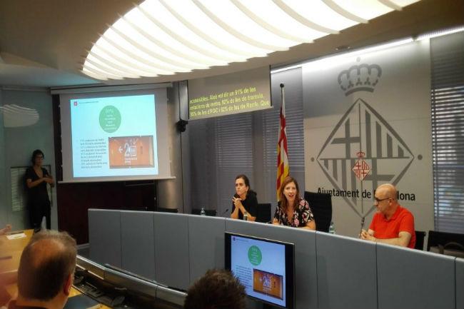 L'Ajuntament de Barcelona presenta un primer diagnòstic sobre l'accessibilitat del transport públic de la ciutat