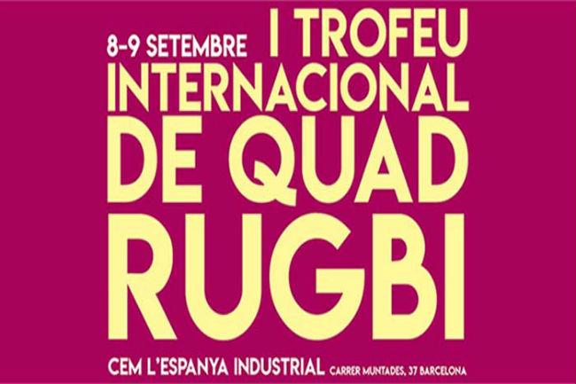 La selecció catalana participarà al I Trofeu Internacional de Quad rugbi a la ciutat deBarcelona