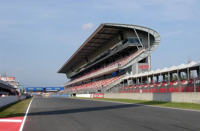 tribuna del circuit barcelona-catalunya