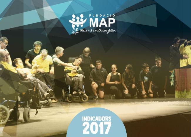memòria 2017 fundació map indicadors creixement