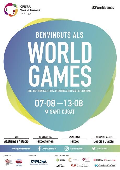 Els Jocs Mundials per a persones amb paràlisi cerebral arriben a Catalunya amb rècord de participació