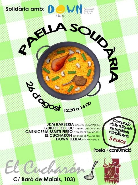 paella solidària down lleida