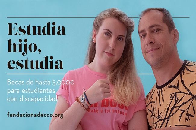Beques Fundación Adecco estudiants fp universitaris discapacitat