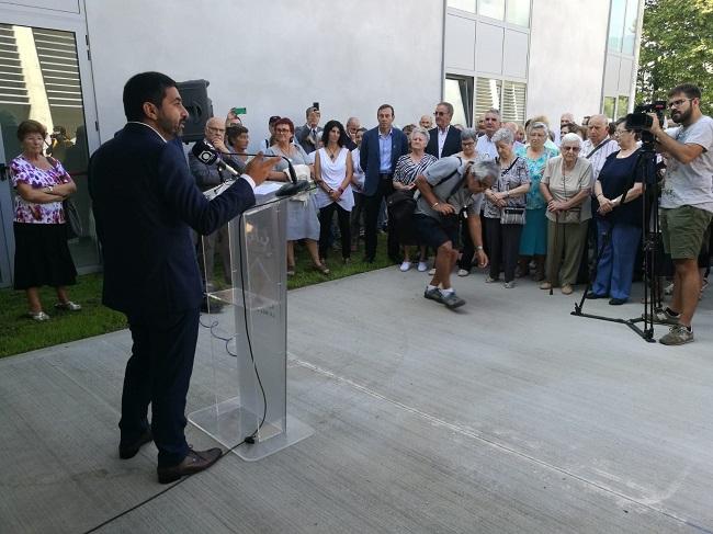 Inauguració del centre de serveis per a la gent gran de la Vall
