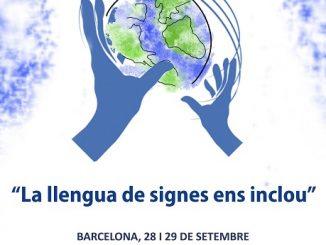 cartell programa activitats dia persones sordes 2018