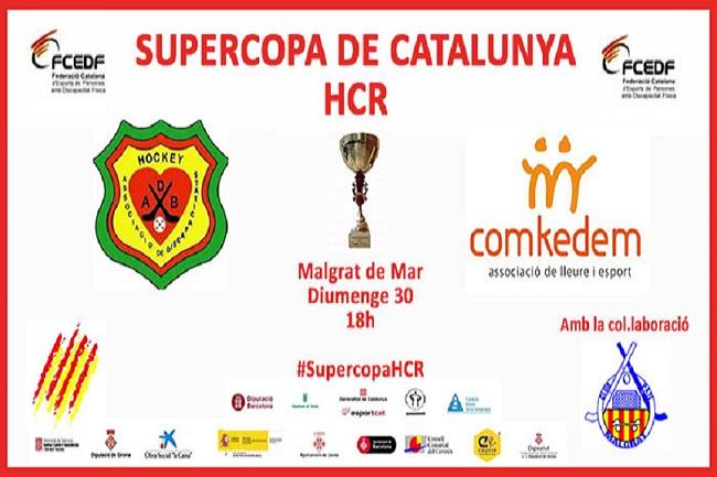 L'ADB Barberà i el club Comkedem es disputaran la Supercopa de Catalunya d'hoquei en cadira de rodes