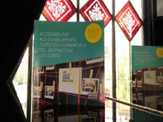 districte corts estudi accessibilitat comerç i turisme