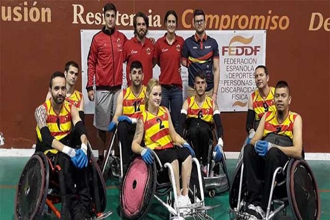 Aquest cap de setmana arriba el primer Trofeu Internacional de Quad rugbi a Barcelona