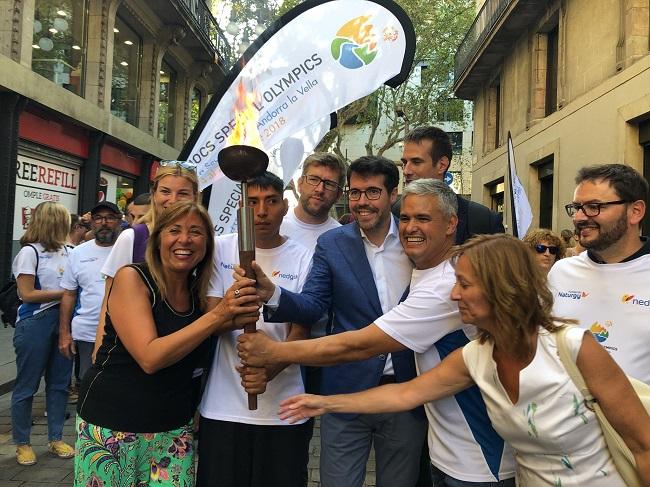 torxa barcelona jocs special olympics 2018
